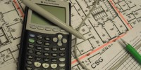 Calculator on plans